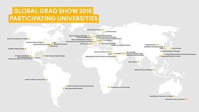 Global Grad Show Presents 145 Transformative Projects From 30 Countries at 2016 Exhibition
