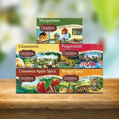 Celestial Seasonings(R) beloved classic packaging has returned