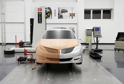 The 2013 Lincoln MKZ comes to life under the direction of designers, sculptors, modelers and engineers in the new dedicated Lincoln Design Center.  (PRNewsFoto/Ford Motor Company)