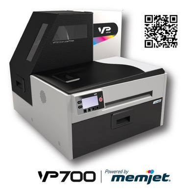 The VP700 powered by memjet redefines fast cost effective color.  (PRNewsFoto/VIPColor Technologies)