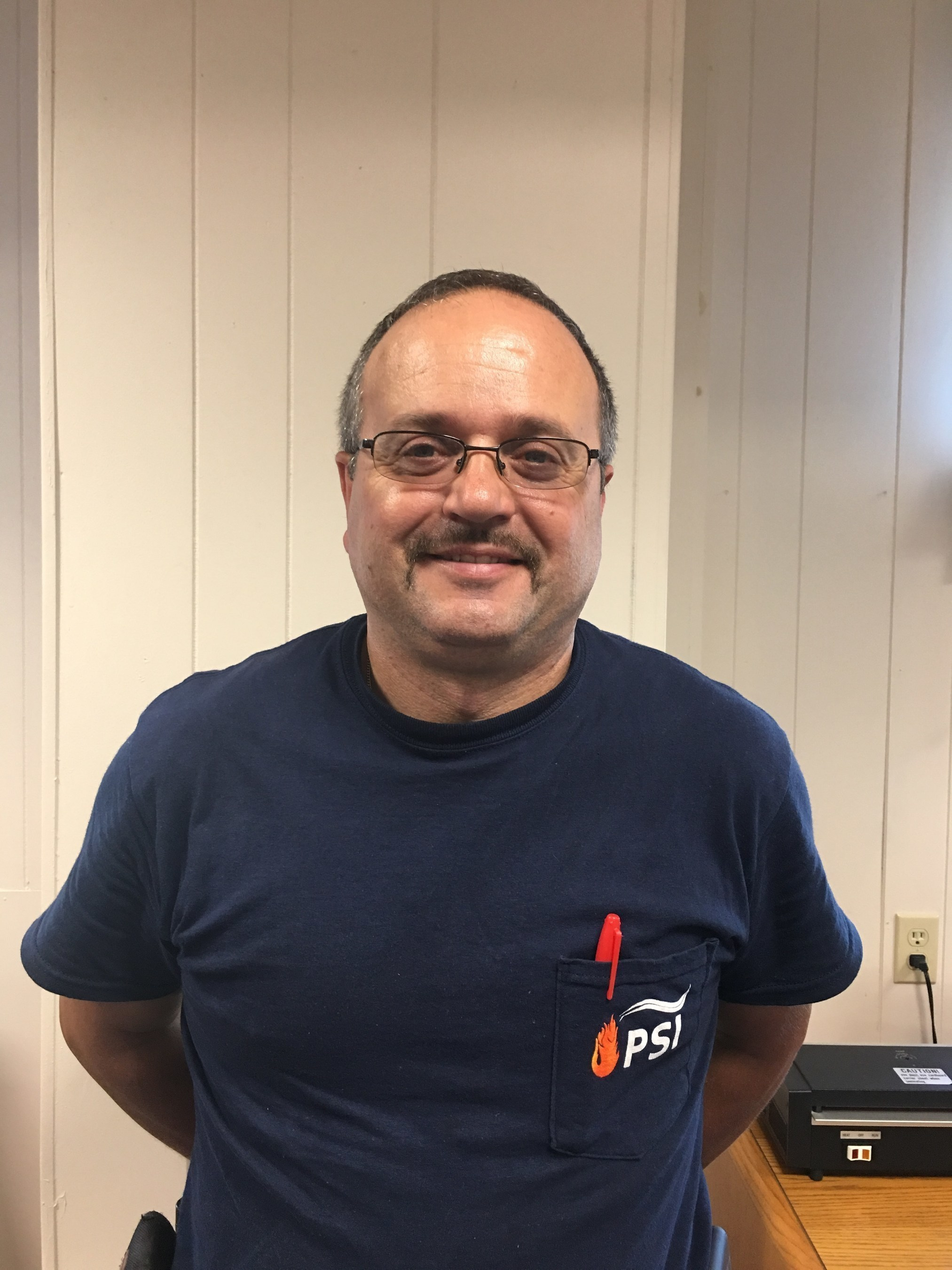 Victor Silva joins the Piping Systems, Inc. team with more than 15 years of millwright experience and more than 30 years of electrical experience.