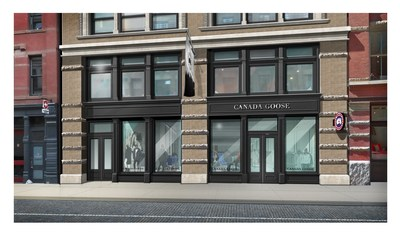 canada goose stockists london