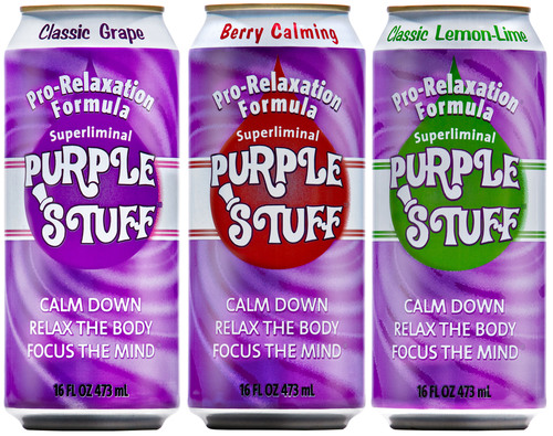 Timewise adds Purple Stuff relaxation soda to all convenience stores