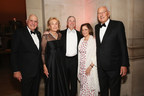 Ken and Elaine Langone, Robert I. Grossman, MD, Dean and CEO of NYU Langone, Elisabeth J. Cohen, MD, and honoree Paolo Fresco at NYU Langone's 2016 Violet Ball.