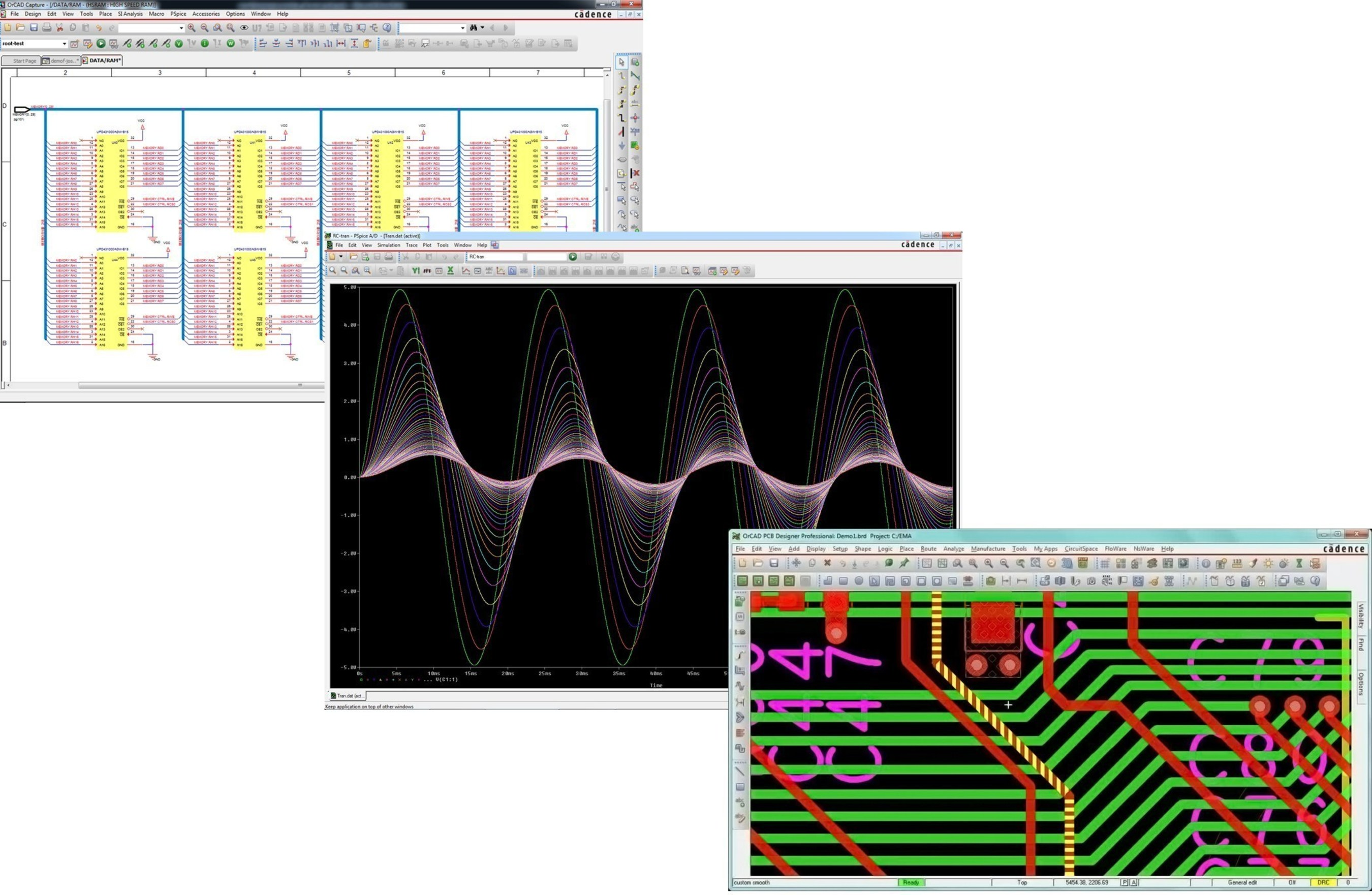 New Cadence OrCAD solution provides a complete scalable and an integrated solution from schematics to simulation to layout using Capture, PSpice Designer and PCB Designer that address challenges with flex and rigid-flex design as well as mixed-signal simulation complexities in IoT, wearables and wireless mobile devices.