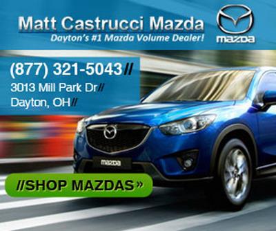 Mazda Miata in Dayton, OH.  (PRNewsFoto/Matt Castrucci Mazda)