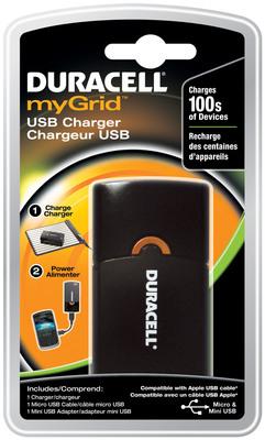 Duracell myGrid USB Charger.   (PRNewsFoto/Procter & Gamble)