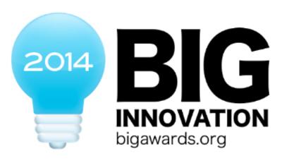 BIG Innovation Award logo.  (PRNewsFoto/MarketingVitals.com)