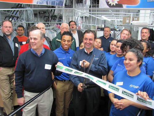 CD One Price Cleaners Opens in Hopkins. The Hopkins mayor, chamber president and fire chief were on hand (seen ...