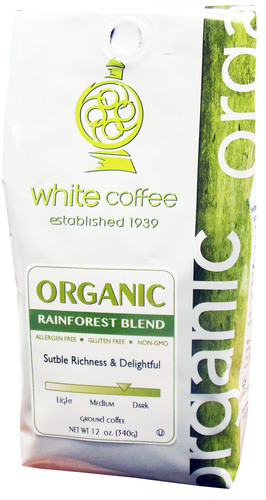 White Coffee Goes 'Natural' and 'Organic' with New Coffee Lines