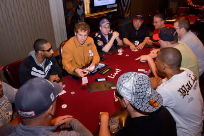 The new 52-Table Poker Room at Maryland Live! Casino in Hanover, MD, is now open to the public.  (PRNewsFoto/Maryland Live! Casino)