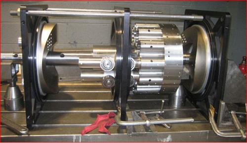 375 HP Diesel RadMax engine. (PRNewsFoto/Reg Technologies Inc.) (PRNewsFoto/REG TECHNOLOGIES INC_)