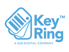 Key Ring Logo (PRNewsFoto/G/O Digital)