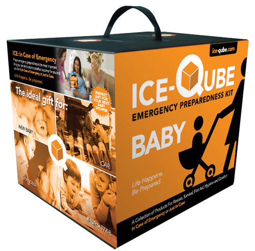 New Ice-Qube Baby Emergency Kit for Baby in case of emergency or just in case. Available at ice-qube.com, ...