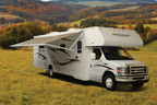 Winnebago's motorhomes, such as the Minnie Winnie, received the Readers' Choice award from MotorHome Magazine.  (PRNewsFoto/Winnebago Industries, Inc.)