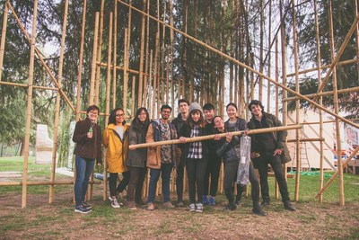 Students from world renowned design institutions Domus Academy and NABA (Milan) and Tsinghua University (Beijing) team up for the unveiling of the joint exhibition, Noosphere XX1: A Model for the Production of Knowledge, at the XXI Triennale International Exhibition 2016 in Milan. Open to the public beginning on April 2, the Pavilion in the Triennale Garden explores new scenarios between Past, Present and Future, inspiring new educational forms in the world of design.