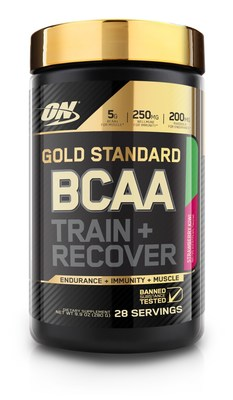 Each Serving  of ON Gold Standard BCAA contains five grams of BCAAs, plus electrolytes and ingredients promoting endurance and immunity