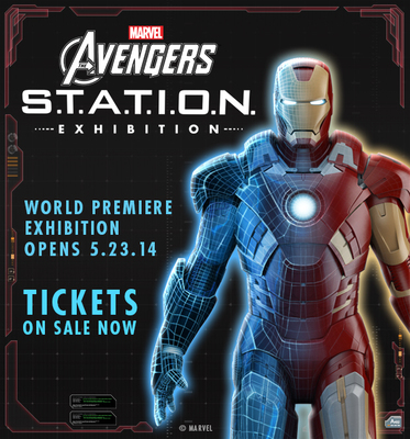 Avengers S.T.A.T.I.O.N Exhibition coming to Discovery Times Square (PRNewsFoto/Discovery Times Square)