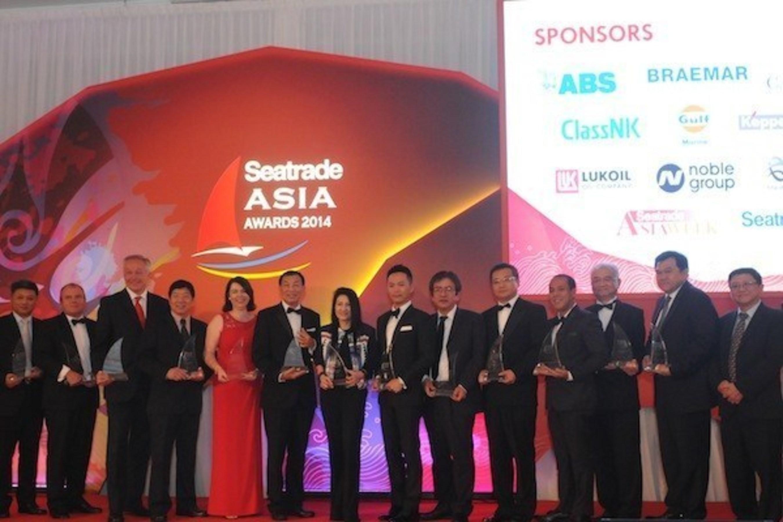 2014 Seatrade Asia Awards Winners