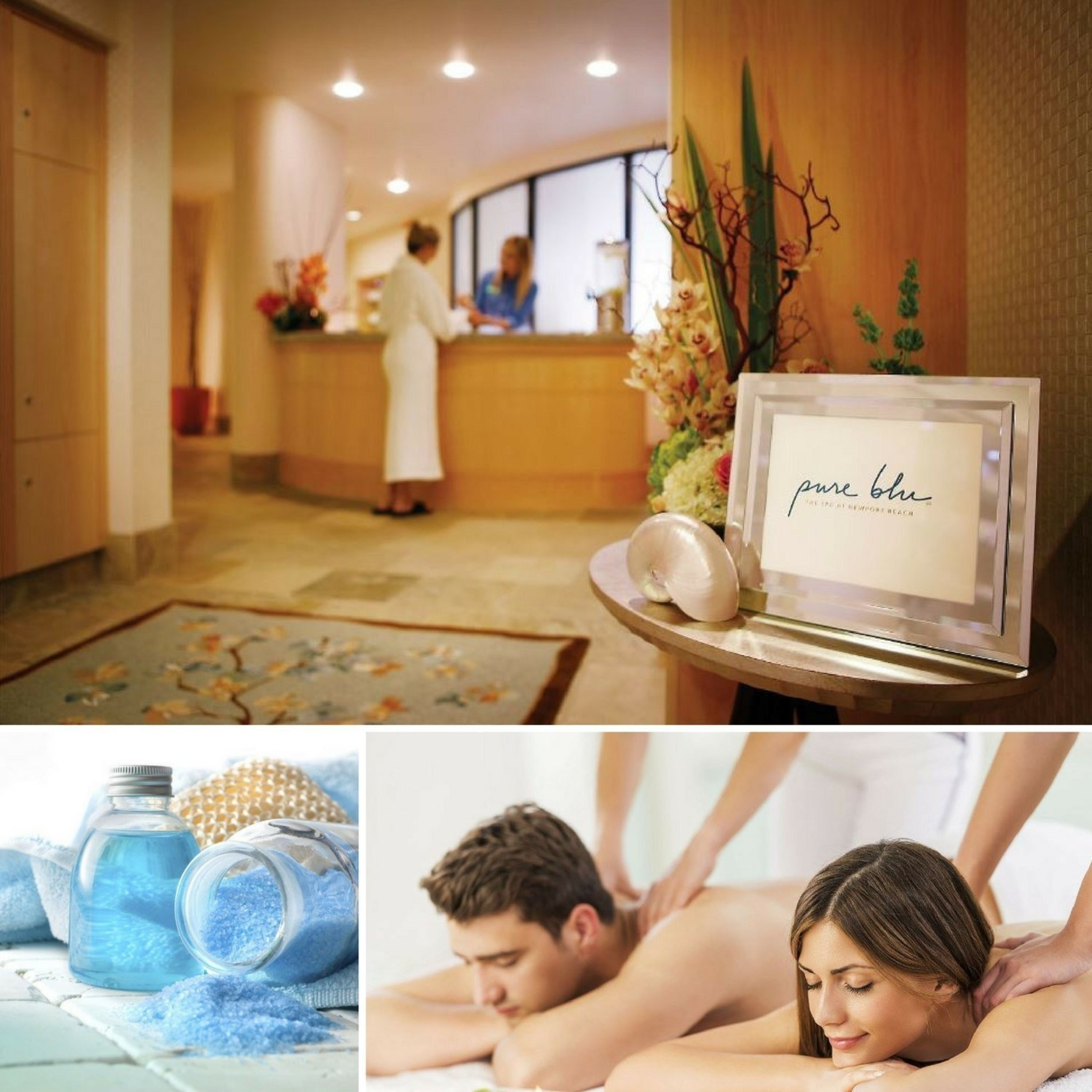 Pure Blu, the spa at Newport Beach Marriott Hotel, appreciates its Newport Beach neighbors and plans to extend an invitation to SoCal residents to take advantage of two special packages that will calm the holiday and aging blues. Whether utilizing the Coastal Locals Package or Celebrate at the Spa Package, guests will receive customized treatments at special savings. For information and to make an appointment, visit www.PureBluSpa.com now or call 1-949-720-7900.