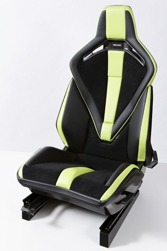 No problem for the specialists from Recaro: Doing the upholstery for the RSSP is very demanding. The extraordinary production quality also really impressed the jury of the Plus X Award. (PRNewsFoto/Recaro Automotive Seating) (PRNewsFoto/Recaro Automotive Seating)