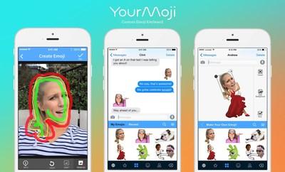 Create and share you own custom emojis with YourMoji!