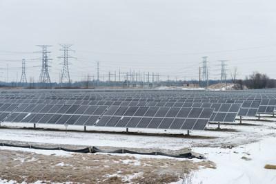 DTE Greenwood Solar Array, Avoca, Michigan