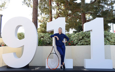 """Maria Sharapova & Friends, presented by Porsche"" brings tennis back to Los Angeles"