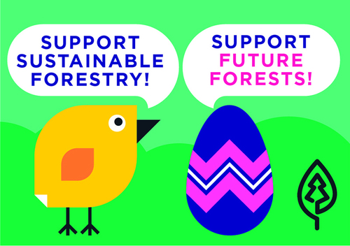 The National Park Foundation, the official charity of America's national parks, has selected to package the official 2014 White House Easter Egg in a gift box made from paperboard certified to the Sustainable Forestry Initiative (SFI) Standard. The recognition made by the White House in support of sustainably certified forest products is not only a great privilege for SFI, but sends a clear message nationwide to invest in our forests and forest-based communities. (PRNewsFoto/Sustainable Forestry Initiative)