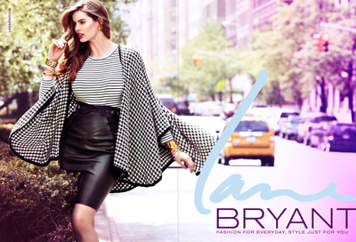 Lane Bryant Fall 2012 Ad featuring Robyn Lawley, shot by Alexi Lubomirski.