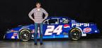 Ray Evernham and the restored 1999 No. 24 Pepsi Chevrolet Monte Carlo. Courtesy: Jason Smith