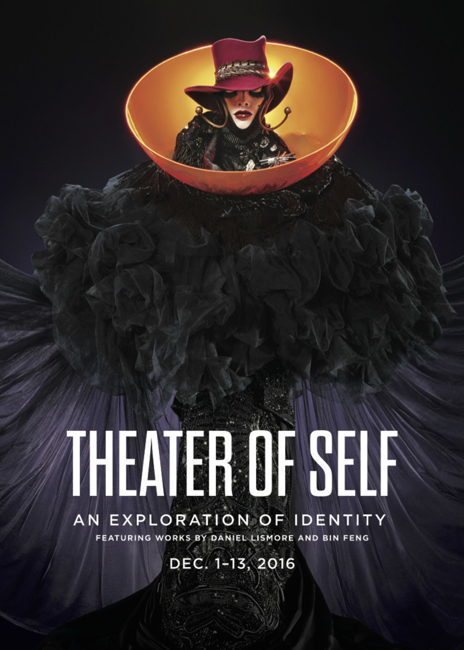 """""""Theater of Self"""" features work by artist and designer Daniel Lismore and SCAD graduate student Bin Feng on view at 1601 N. Miami Avenue"""