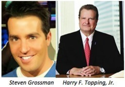 Talent manager Steven Grossman and City National Bank's SVP Harry F. Topping, Jr. will be honored at September 29th fundraiser at Warner Bros. Studios