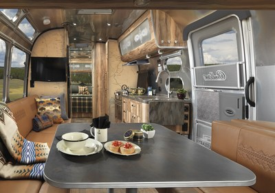 Two timeless American brands, Airstream and Pendleton Woolen Mills, have come together for the first time to pay tribute to our nation's parks and to great outdoor adventure. Coinciding with the centennial of the National Park Service, Airstream proudly introduces the 2016 Limited Edition Pendleton National Park Foundation travel trailer.