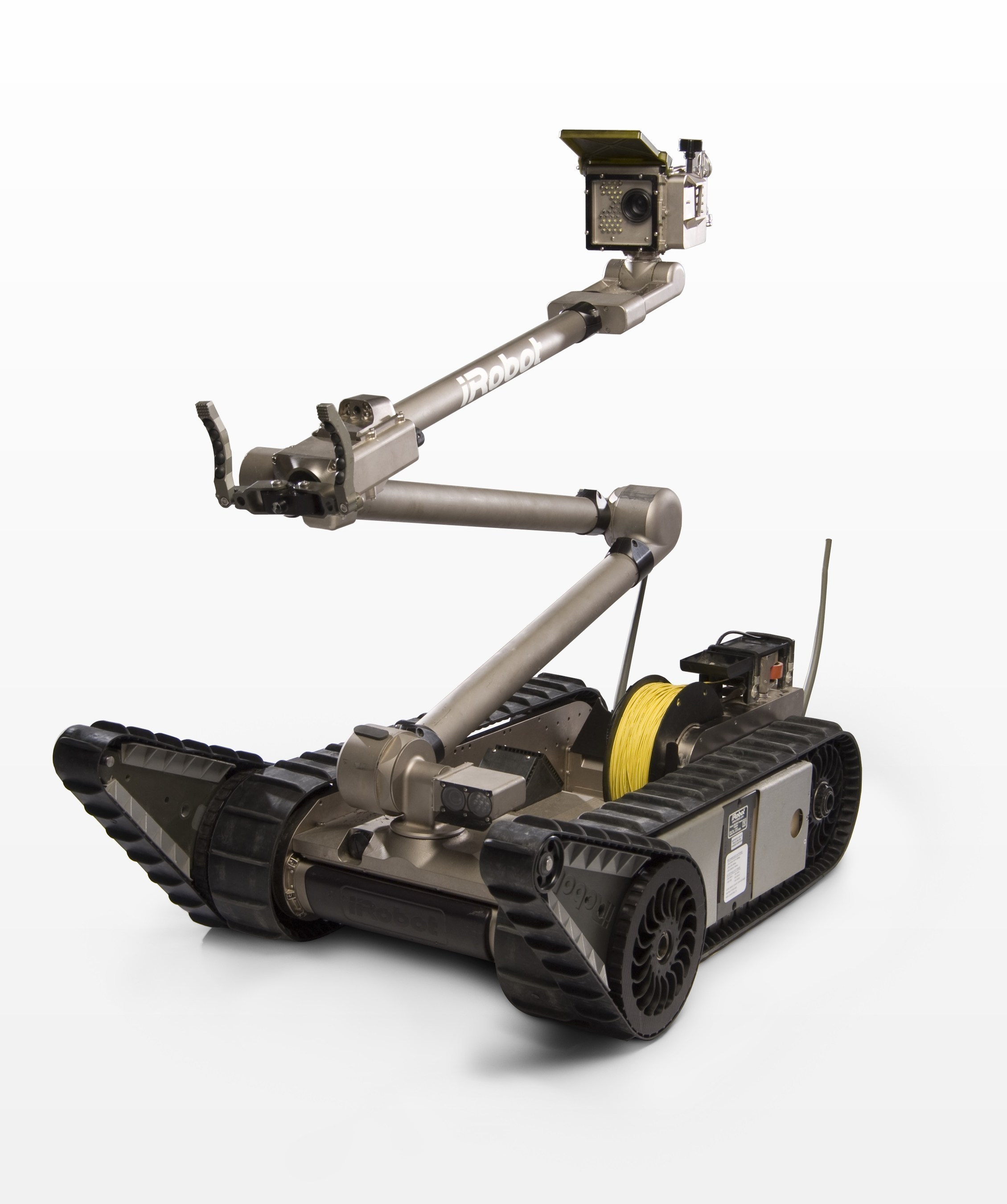 The iRobot 510 PackBot is used to perform a variety of missions, including explosive ordnance disposal, ...