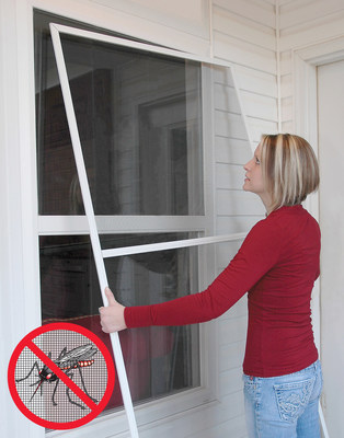 Health experts recommend installing or repairing window and door screens as one measure of preventing mosquito bites.