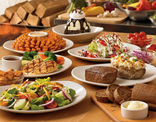 """Stress less with """"No Worries Wednesdays"""" at Outback Steakhouse(R). Enjoy dinner for two and ..."""