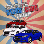 Stars and Stripes Giveaway - 5 Cars In 5 Days