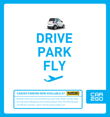 car2go and The Parking Spot: Drive. Park. Fly.