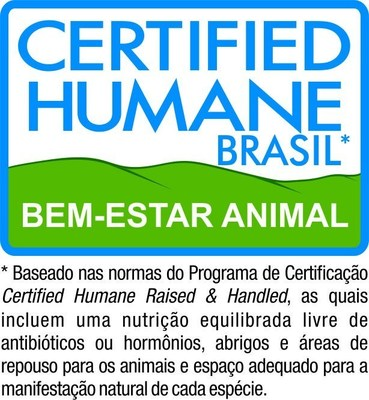 Certified Humane Brasil (PRNewsFoto/Humane Farm Animal Care)