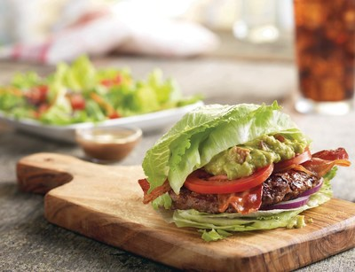 To ring in the New Year, Red Robin restaurants introduce The Wedgie(TM) Burger, a low-carb, 450 calorie limited-time offering stacked with bacon, guacamole, tomato and red onions on top of a 6-ounce beef patty all inside of a lettuce wedge bun.