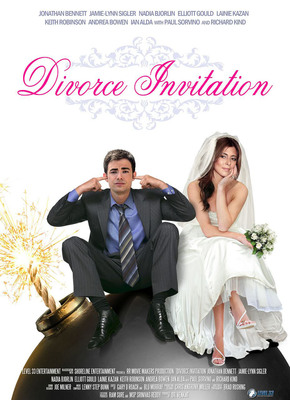 DIVORCE INVITATION Poster.  (PRNewsFoto/Level 33 Entertainment)