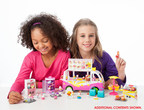 Moose Toys' Shopkins(TM) Scoops Ice Cream Truck is awarded the 2016 Girl Toy of the Year Award by the Toy Industry Association at the North American International Toy Fair.