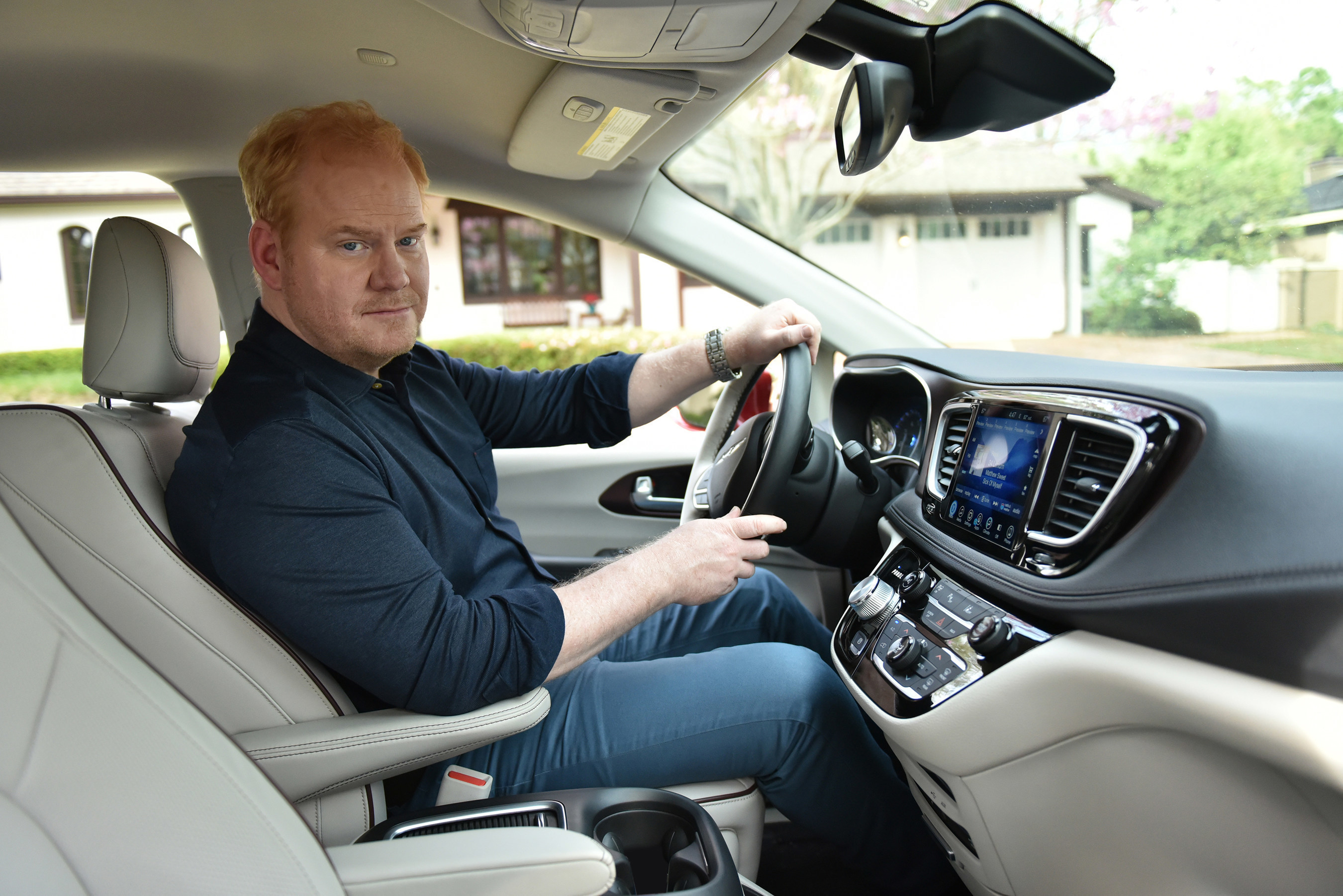 Jim Gaffigan Stars in Chrysler Brand's 'Dad Brand' Marketing Campaign for the All-New 2017 Chrysler Pacifica