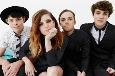 State Farm(R) and Echosmith team up for Celebrate My Drive(R) and offer high school students a chance to win a private concert for their high school.