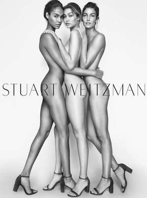 Stuart Weitzman Announces Gigi Hadid, Joan Smalls and Lily Aldridge as the New Faces of the Spring 2016 Campaign