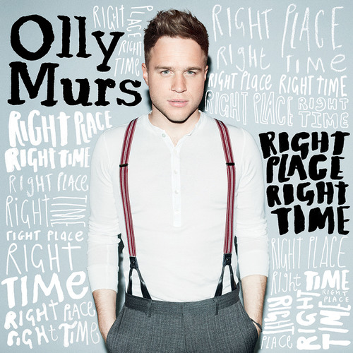 Olly Murs To Release US Debut Album RIGHT PLACE RIGHT TIME April 16, 2013.  (PRNewsFoto/Columbia Records)