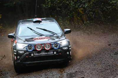 This past weekend at the Lake Superior Performance Rally (LSPR), Ryan Millen, Christina Fate, and their capable Rally RAV4 secured a second place finish in the 2WD Class for the Rally America national championship.