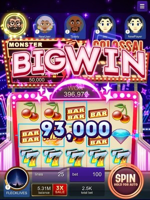 Over 375 billion chips in jackpots won in jackpot city 39 s for Big fish casino facebook