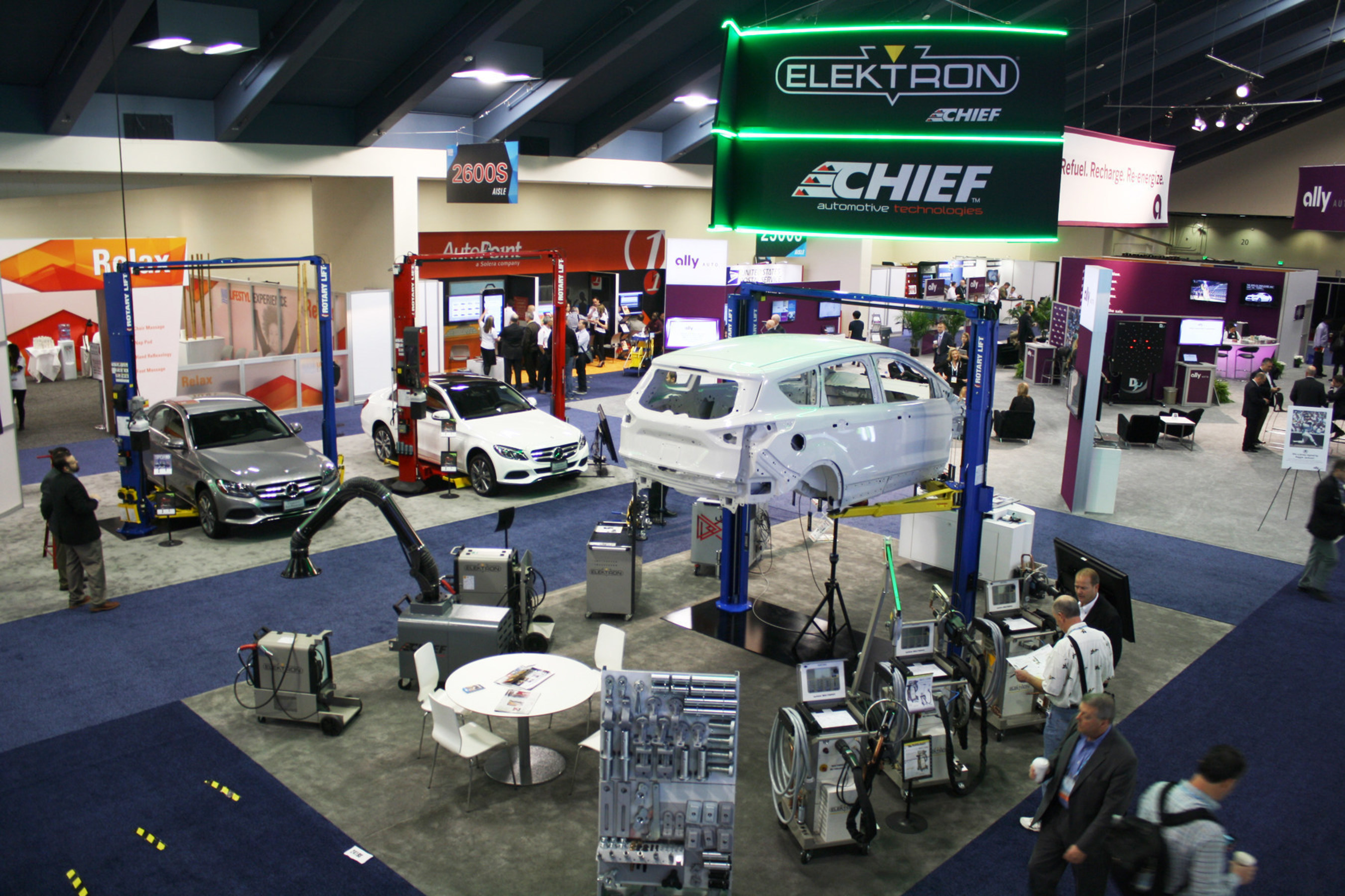 Chief to Show New Globaljig Bench, Expanded Line of Collision Repair Equipment at NADA Expo
